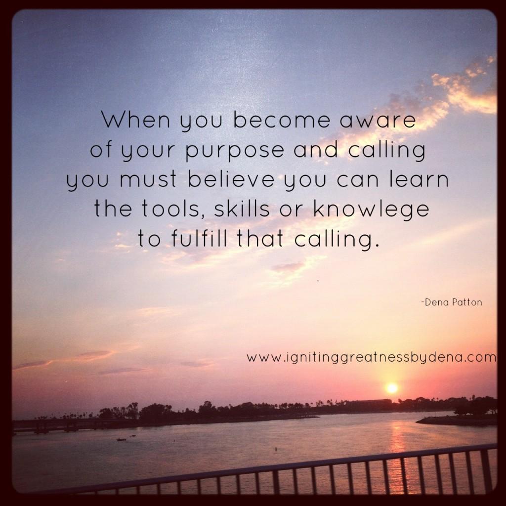 fulfill calling